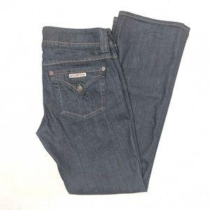 Hudson blue denim bootcut jeans, size 29 / 8